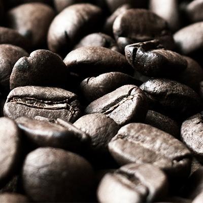 Kaffe, kakao og pulver